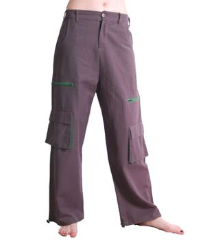 Men's Baggy Pants Hippie Goa Psy Cotton Trousers – Bild 3