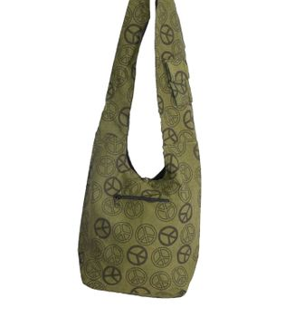 Ethno Hippie Bag Baba Peace Symbol Shoulder Bag Goa – Bild 6