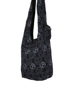Ethno Hippie Bag Baba Peace Symbol Shoulder Bag Goa – Bild 1