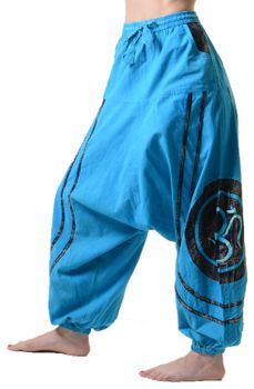 Psy Baggy Pants with Om Symbol – Bild 6