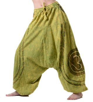 Psy Baggy Pants with Om Symbol – Bild 8