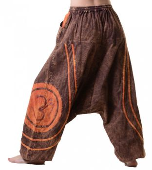 Psy Baggy Pants with Om Symbol – Bild 12
