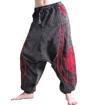 Psy Baggy Pants with Om Symbol – Bild 10