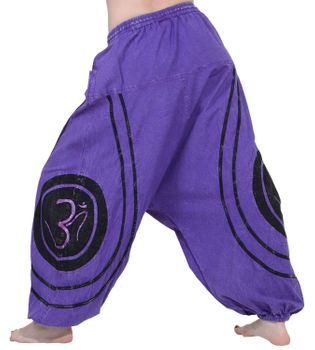 Psy Baggy Pants with Om Symbol – Bild 14