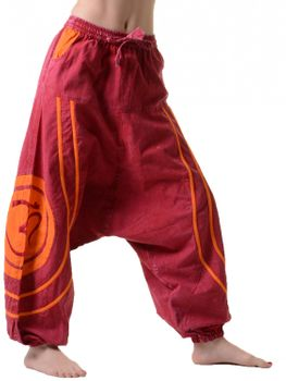 Psy Baggy Pants with Om Symbol – Bild 5
