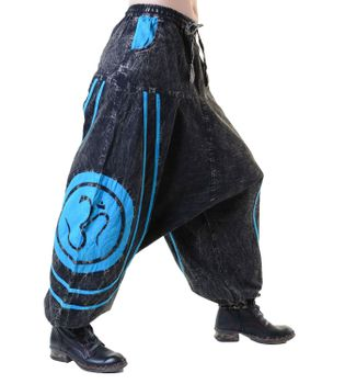 Psy Baggy Pants with Om Symbol – Bild 15