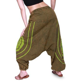 Psy Baggy Pants with Om Symbol – Bild 3