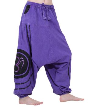 Psy Baggy Pants with Om Symbol – Bild 13