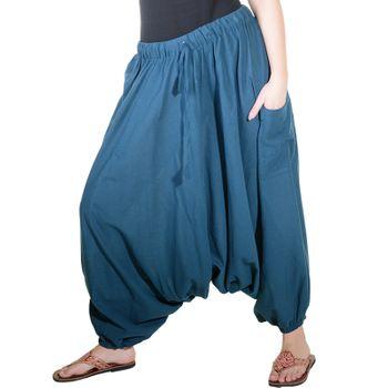 Kunst und Magie Oriental Harem Pants Bloomers Shalwar Pants Muck Aladdin Pants – Bild 2