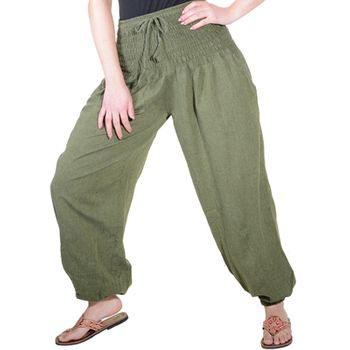 Harem Pants Summer Pants Hippie Goa Wellness Yoga Pants – Bild 2