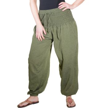 Harem Pants Summer Pants Hippie Goa Wellness Yoga Pants – Bild 1