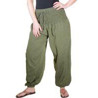 Kunst und Magie Damen Pluderhose Haremshose Sommerhose Hippie Goa Wellness Yoga  001