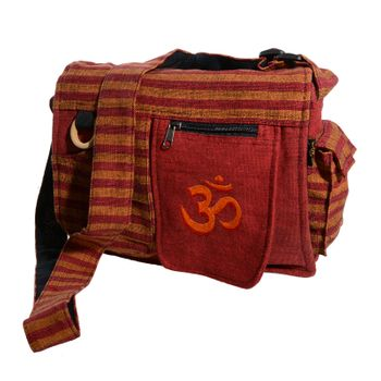 OM Hippie handbag Goa bag with shoulder strap – Bild 9