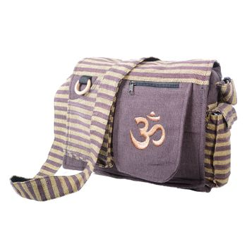 OM Hippie handbag Goa bag with shoulder strap – Bild 1