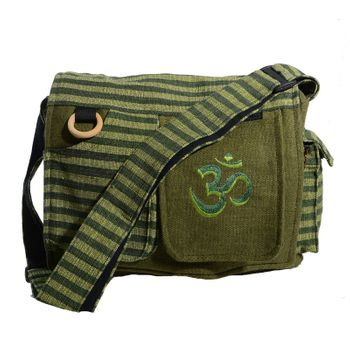 OM Hippie handbag Goa bag with shoulder strap – Bild 3