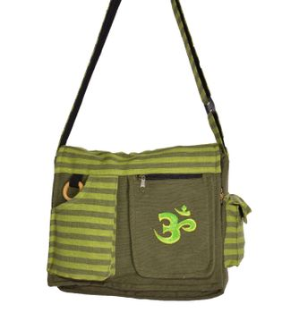 OM Hippie handbag Goa bag with shoulder strap – Bild 4