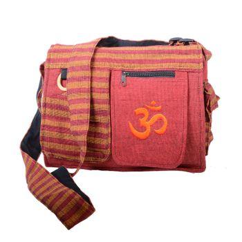 Kunst und Magie Damen OM Hippie Handtasche Goa Tasche mit Schulterriemen – Bild 2