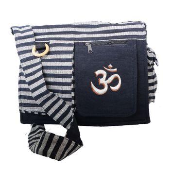 Kunst und Magie Damen OM Hippie Handtasche Goa Tasche mit Schulterriemen – Bild 5