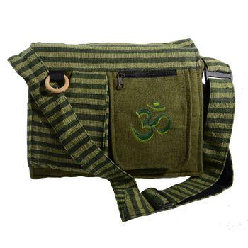 Kunst und Magie Damen OM Hippie Handtasche Goa Tasche mit Schulterriemen – Bild 15