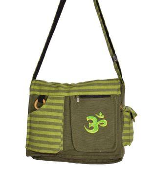 Kunst und Magie Damen OM Hippie Handtasche Goa Tasche mit Schulterriemen – Bild 4