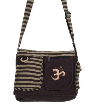 Kunst und Magie Damen OM Hippie Handtasche Goa Tasche mit Schulterriemen – Bild 7