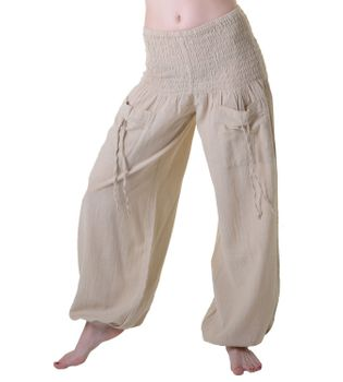 Yoga Wellness Pants with Elastic Waistband – Bild 2