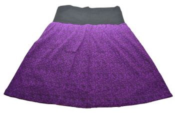 Hippie Goa Larp Trance - Patchwork Mini-Skirt – Bild 3