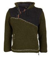 Ausgefallener Strickpullover im Mittelalter-Stlye Hippie Pullover 001