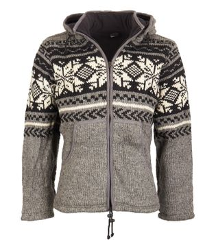 Cardigan snowboard jacket nordic with fleece lining – Bild 3