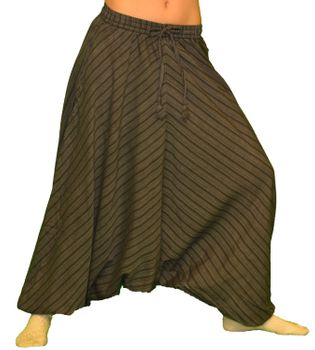Unisex Sarouel Pants striped – Bild 2