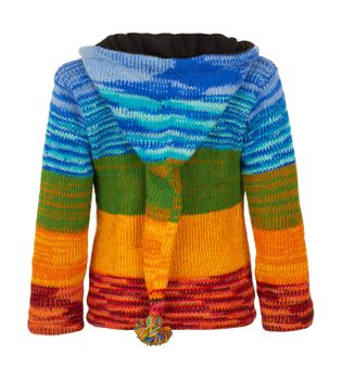 Woolen Jacket with Elfin Hood – Bild 2
