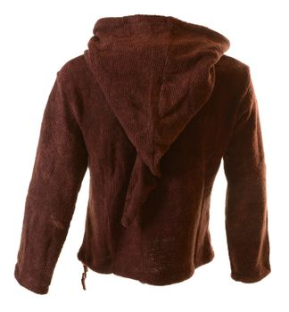 Hooded sweater Sweatshirt with zip-top medieval – Bild 6