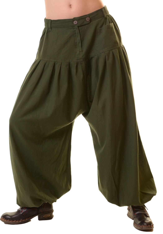 Unisex Cotton Pants Hippie Medieval Baggy Trousers ...