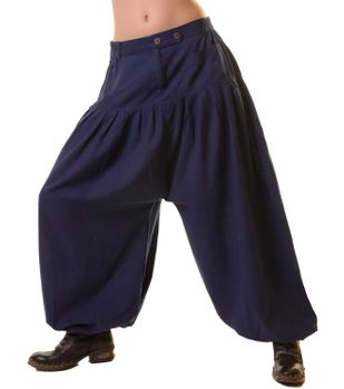 Unisex Cotton Pants Hippie Medieval Parachute Pants Sarouel Pants Casual – Bild 8