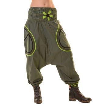 Psy Baggy Pants Hippie Goa Hose Baumwoll Sarouelhose Tanzhose – Bild 1
