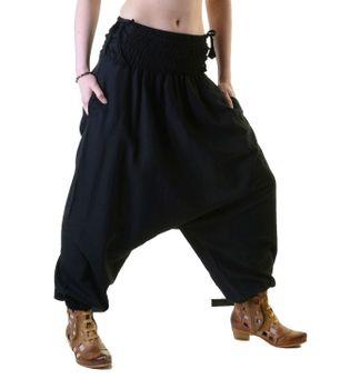Psy Goa Hippie Hose Aladinhose Afghani Haremshose mit Schnürung Pluderhose in tollen Farben – Bild 7