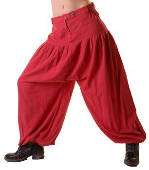 Unisex Parachute Pants Medieval Summer – Bild 12