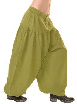 Unisex Baumwoll Hose Hippie Mittelalter Ballonhose Pluderhose Pumphose in tollen Farben – Bild 5