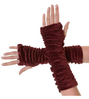 Armwarmers / Handwarmers made from Velvet – Bild 7