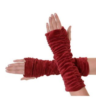 Armwarmers / Handwarmers made from Velvet – Bild 6