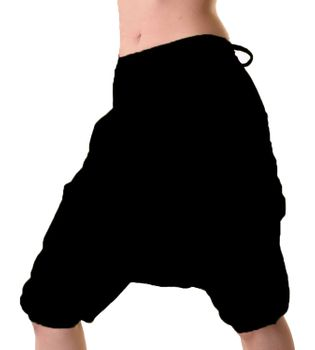 Short Goa Hippie Harem Pants Summer Pants to Tie – Bild 4