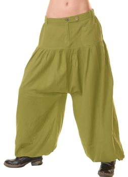 Unisex Cotton Pants Hippie Medieval Parachute Pants – Bild 1