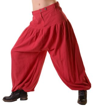 Unisex Cotton Pants Hippie Medieval Parachute Pants – Bild 9