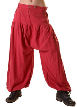 Unisex Cotton Pants Hippie Medieval Parachute Pants – Bild 8