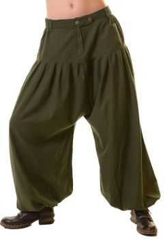 Unisex Cotton Pants Hippie Medieval Parachute Pants – Bild 10