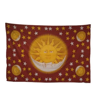 Wall Hangings Bedspread Fabric with Sun Print  – Bild 2