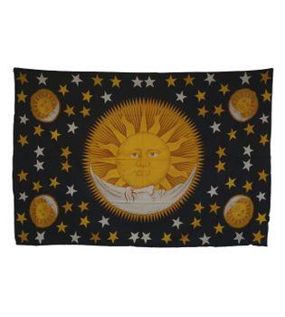 Wandbehang Tagesdecke Tuch mit Sonnen Motiv – Bild 3