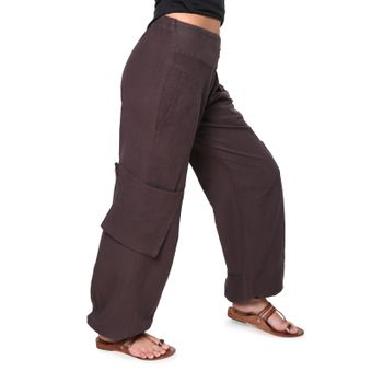 Psy Pants Hippie Goa Cotton Dance and Casual Pants – Bild 2