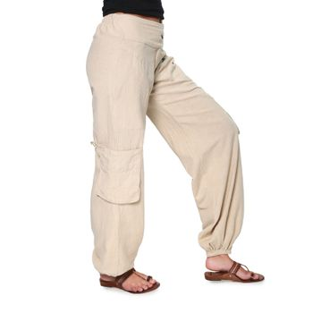 Psy Pants Hippie Goa Cotton Dance and Casual Pants – Bild 4