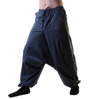 Unisex Psy Baggy Pants Hippie Pants Goa Cotton Dance Wear – Bild 6